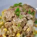 Chicken Corn Quinoa Casserole {gluten free, dairy free}