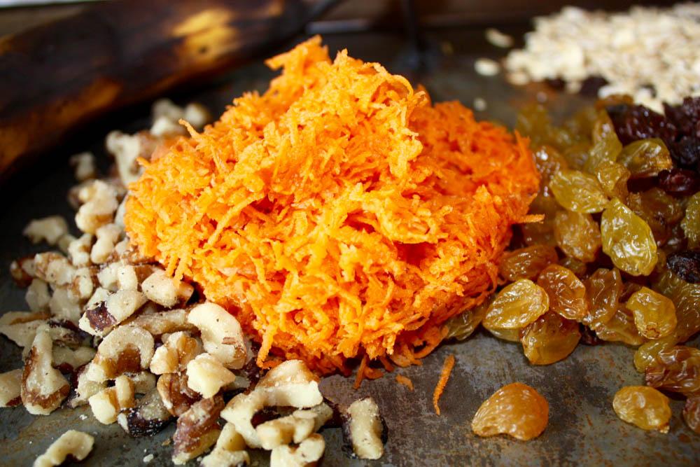 Carrot Cookie Ingredients