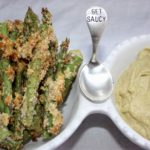 Asparagus Fries with Cajun Avocado Dip {gluten free, oil free}