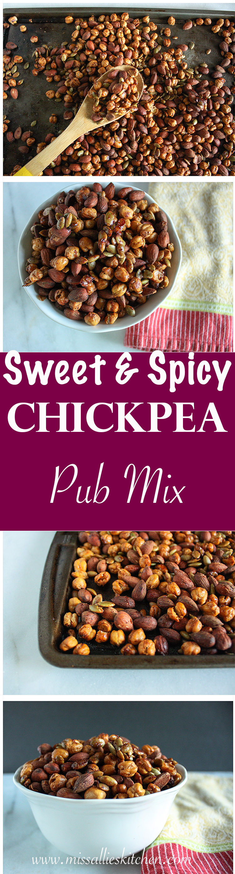 Sweet Spicy Chickpea Pub Mix-Miss Allies Kitchen