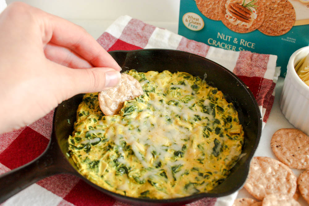 Spinach Artichoke Dip For Two