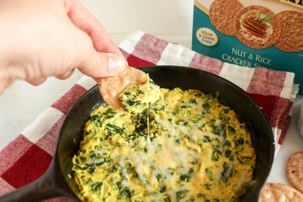 Melty Spinach and Artichoke Dip - That's healthy!