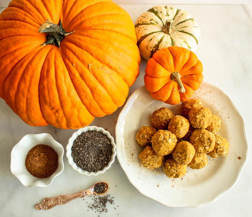 Oat & Pumpkin Power Balls