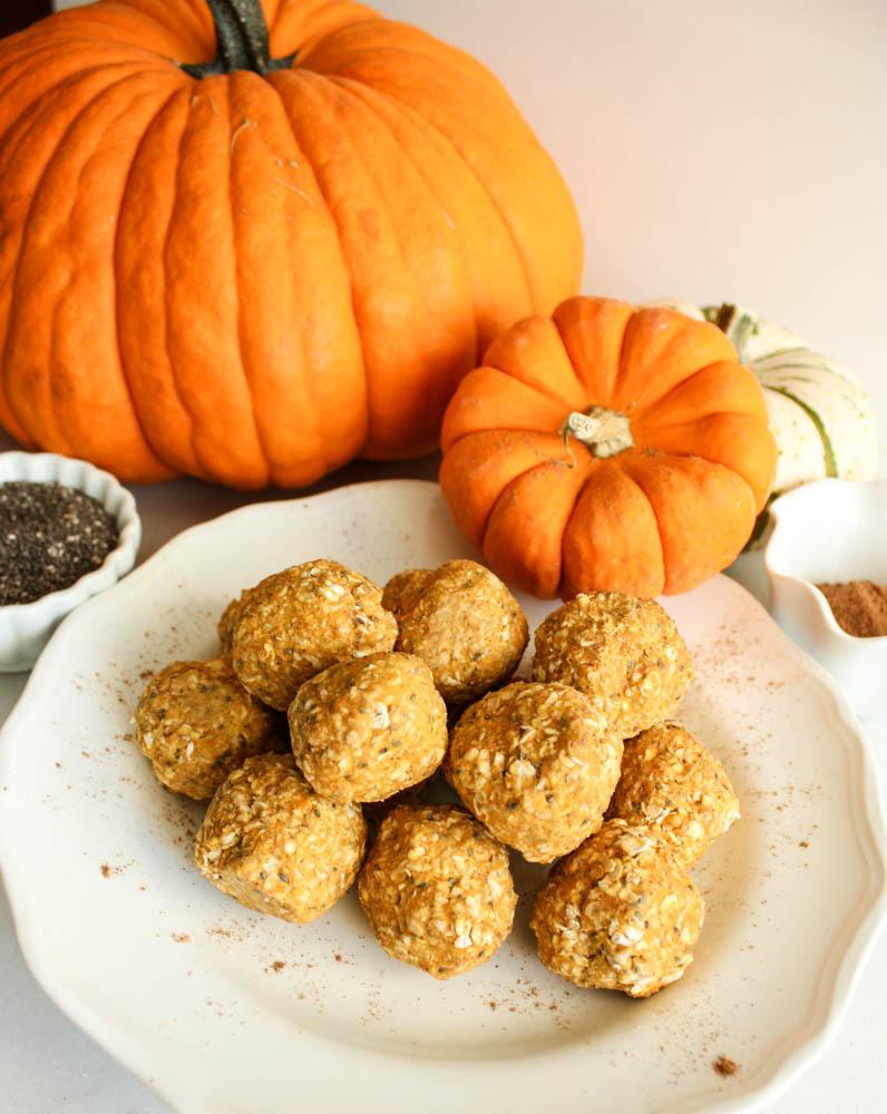 Spiced Pumpkin Power Oat Snacks