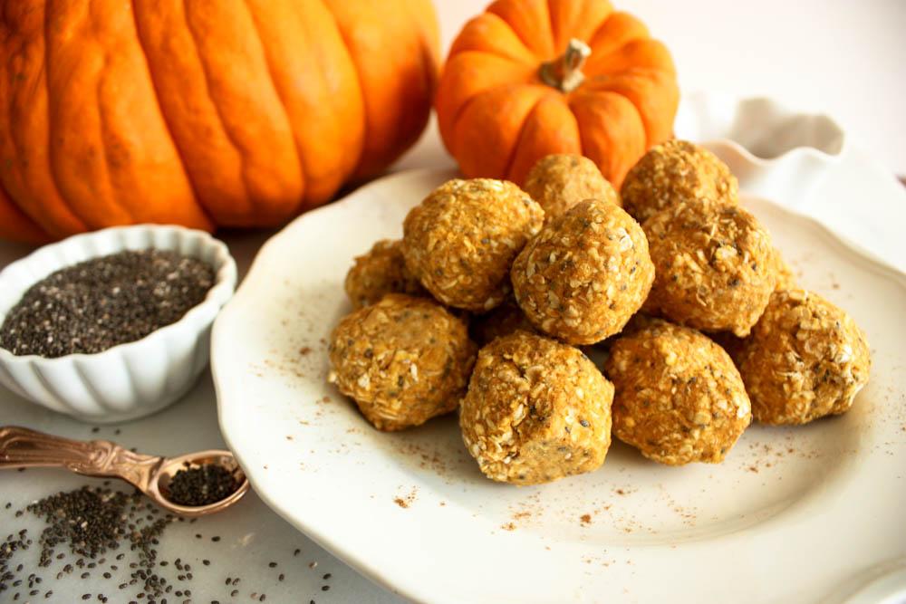 Healthy Pumpkin Balls