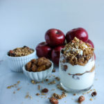 Easy Apple Compote Parfait