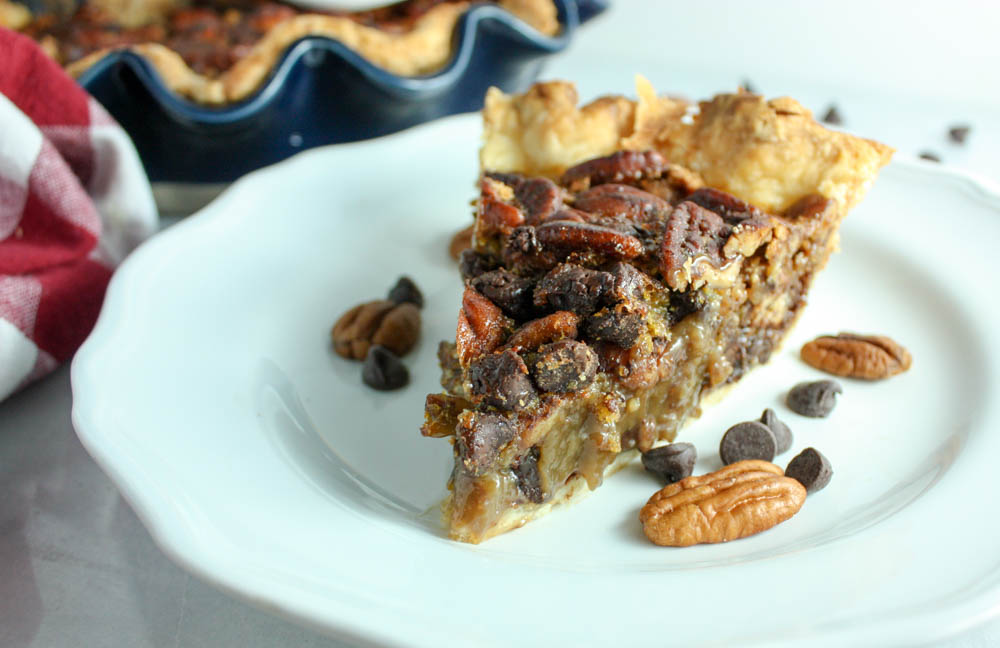 Favorite Chocolate Pecan Pie