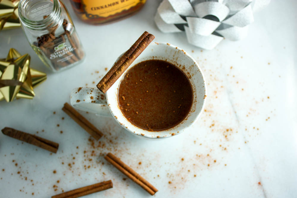 Cinnamon Crockpot Hot Chocolate