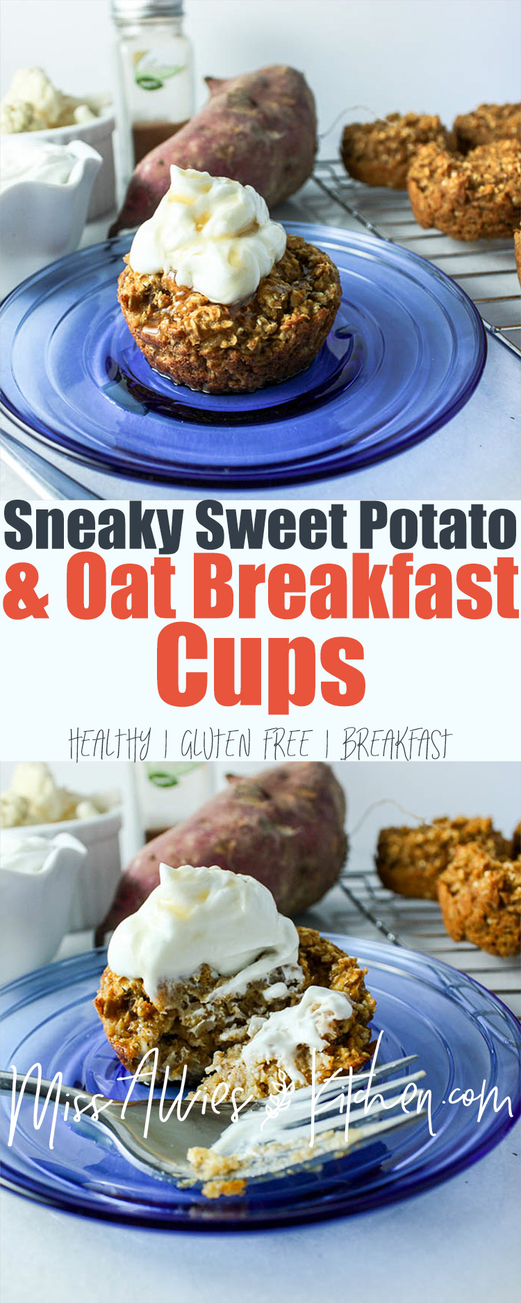 Sweet Potato Oat Cups with Hidden Veggies
