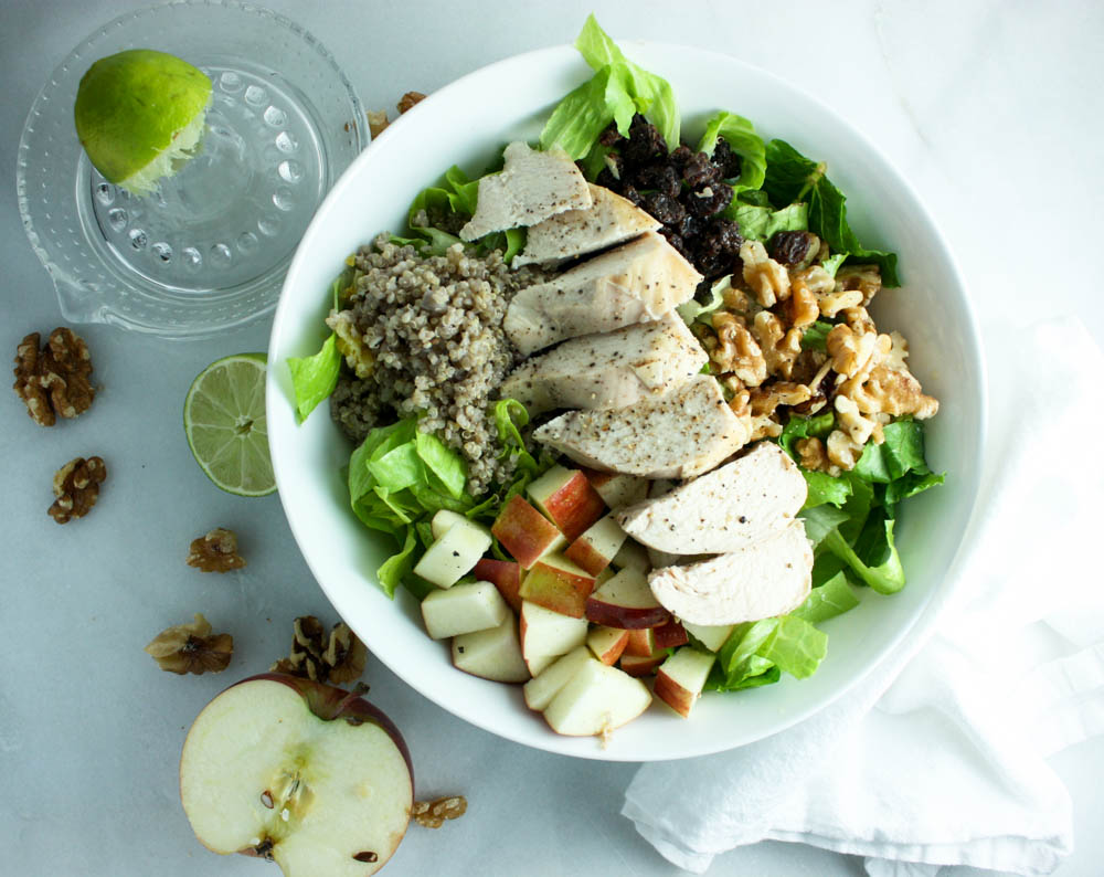 Meal Prep this Apple Walnut Salad Today