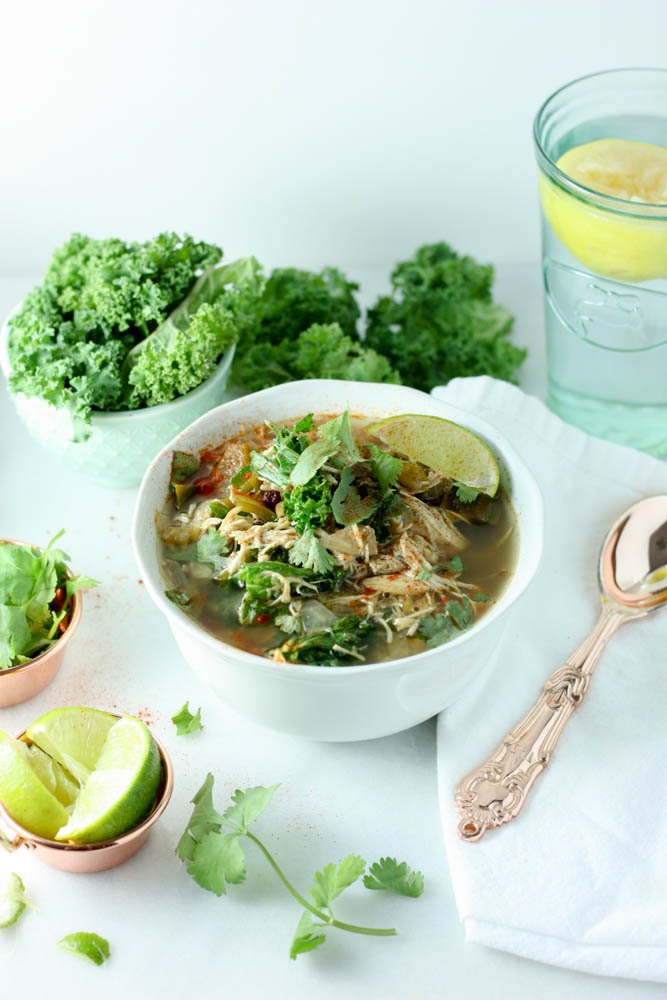 Beanless While Kale Crockpot Chili