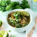 Beanless White Kale Chicken Slow Cooker Chili