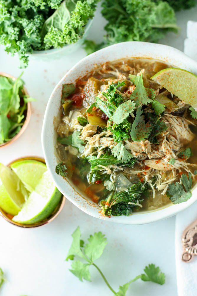 Kale & Chicken Chili