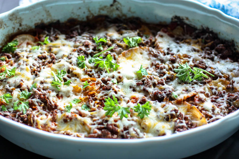 Family Favorite Tex Mex Lasagna