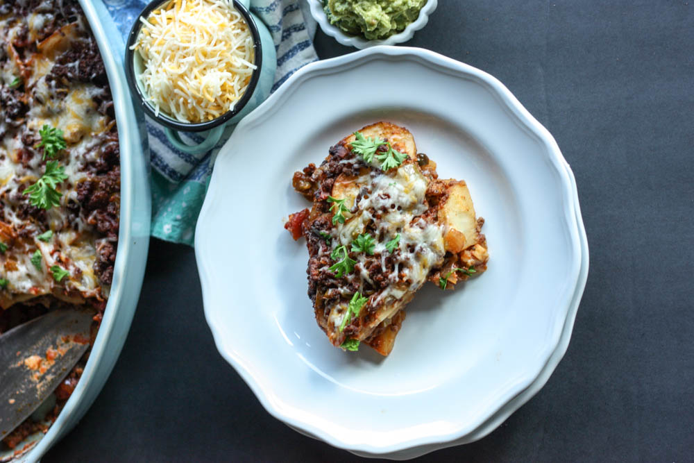 Easy Tex Mex Lasagna
