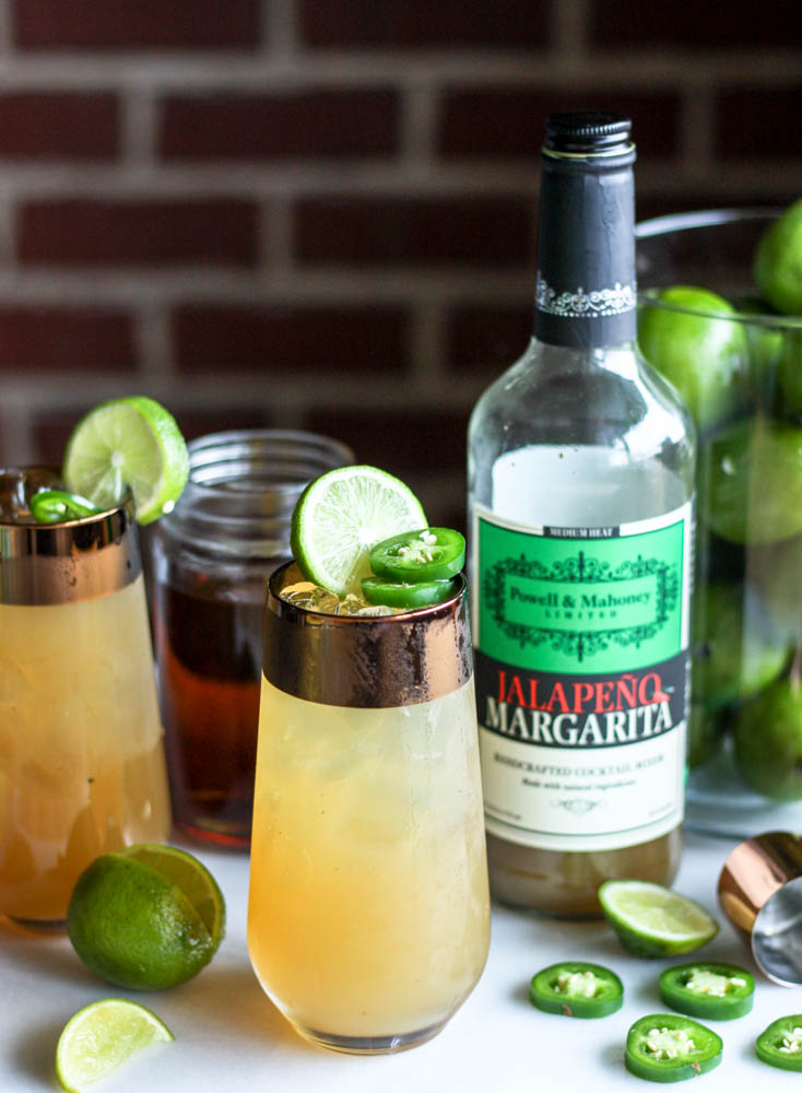 Spicy Lynchburg Limeade