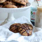 Whole Wheat Coffee Snickerdoodles with Mocha Glaze