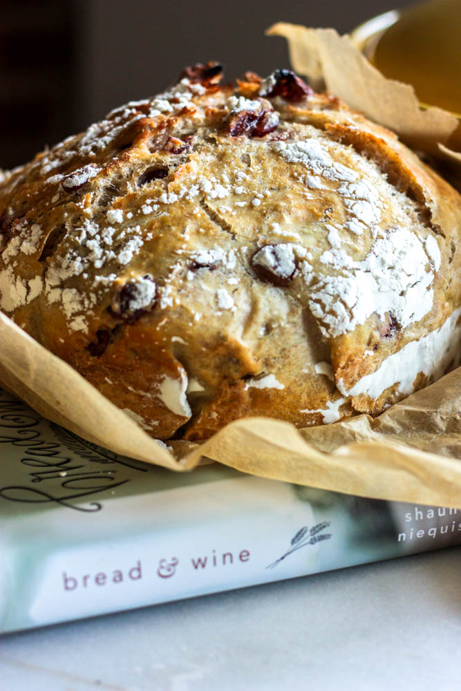 Whole Wheat with Cranberry Rosemary Magic