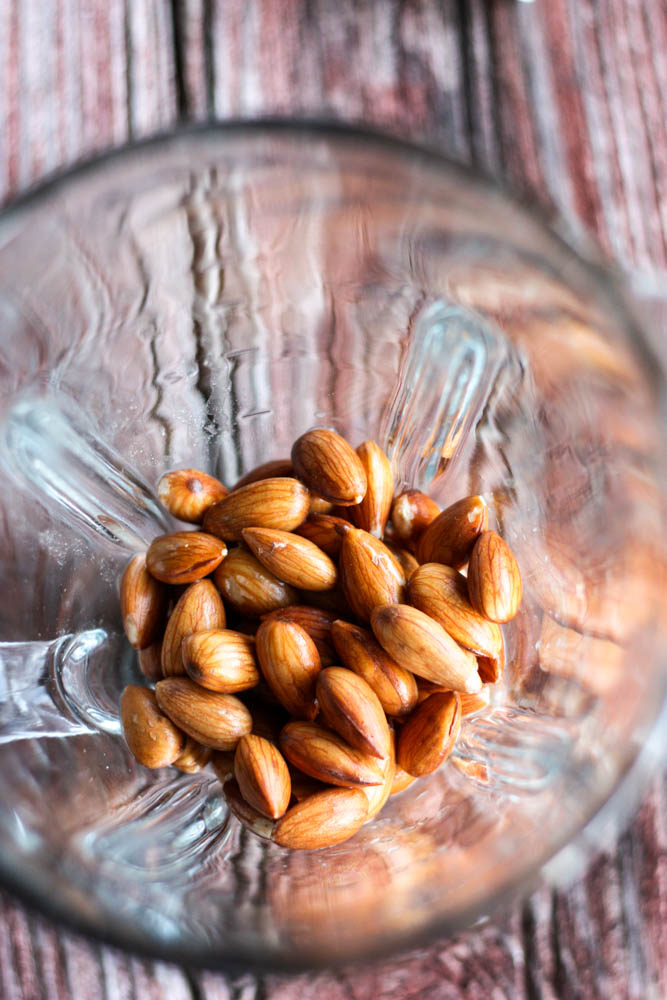 Almond Milk in the making!