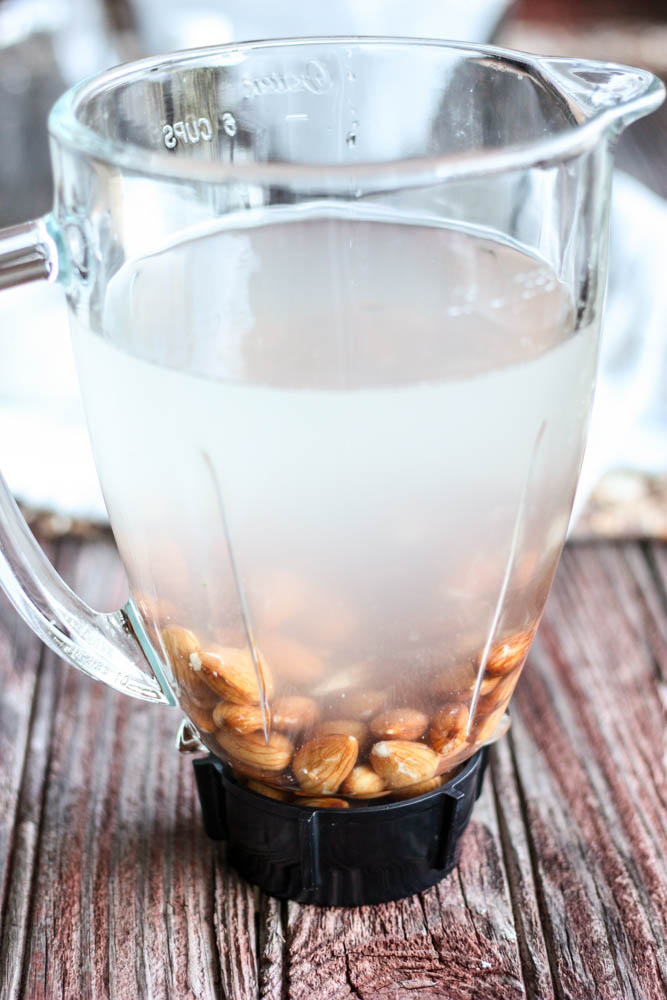 Make your own almond milk!