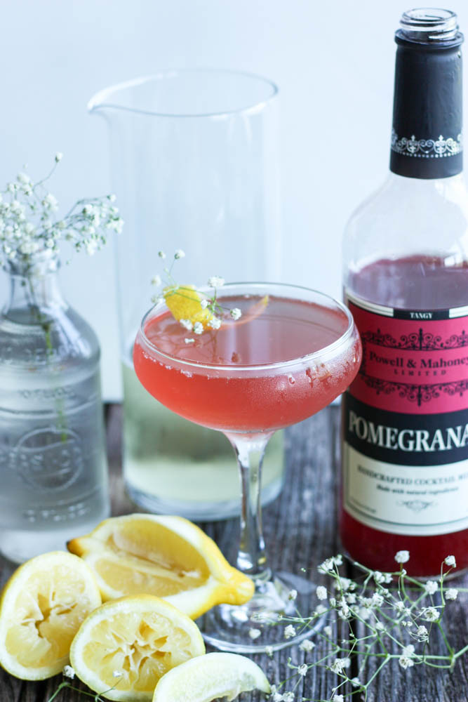Pomegranate & Elderflower Fizz Champagne