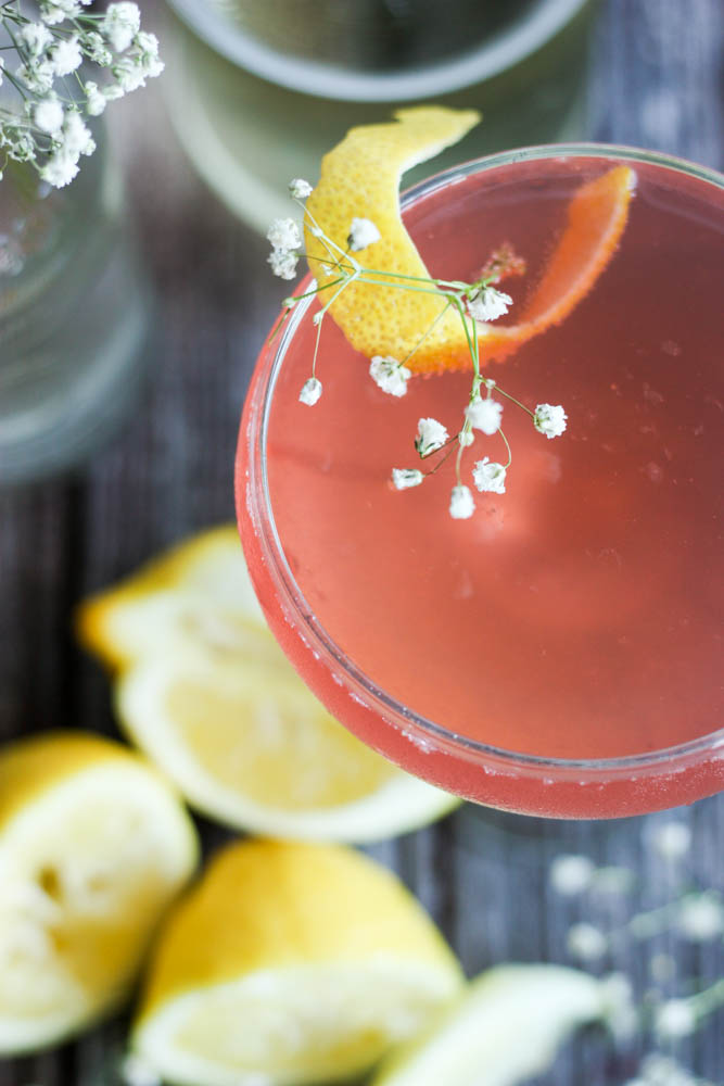 Pomegranate & Elderflower Fizz