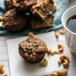 Paleo Cinnamon Streusel Banana Muffins