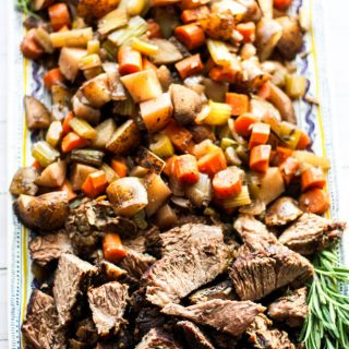 Red Wine Braised Beef Roast