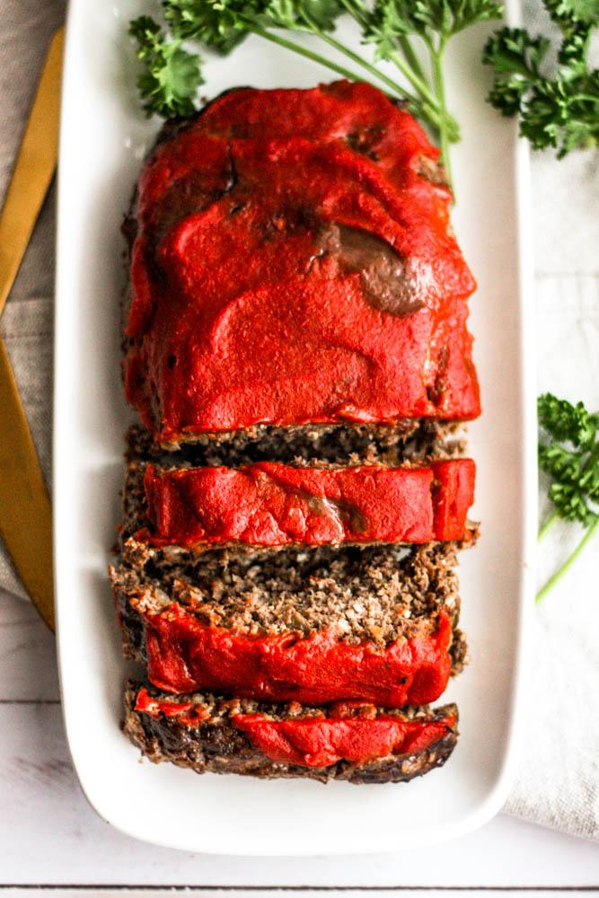 Whole30 Venison Freezer Meatloaf