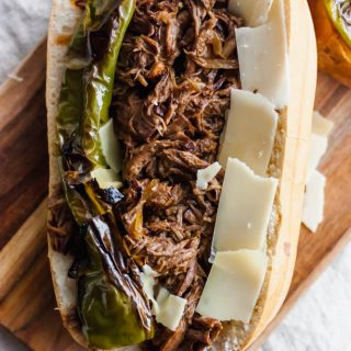 Healthier Slow Cooker Brisket Sandwiches - 2 Ways!