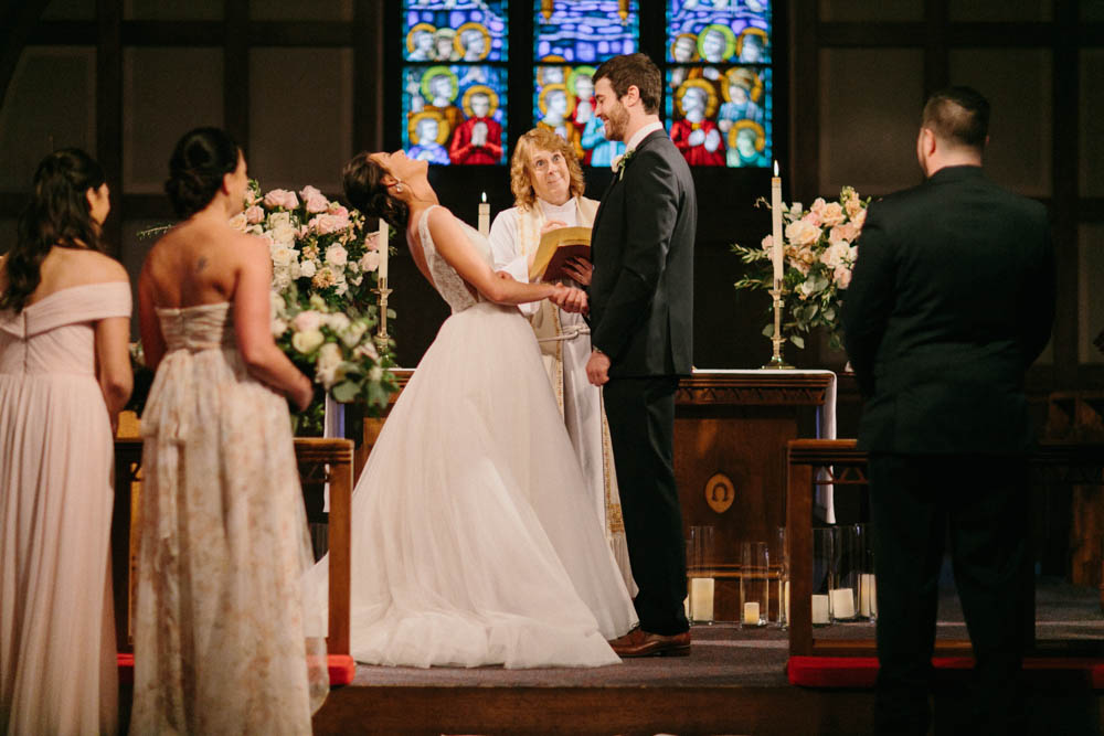 Wedding Recap Part 2 - Focusing on why it's OK to laugh at the altar and to let the little things go on your big day.