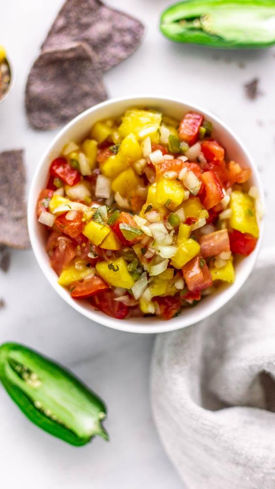 Lacto Fermented Mango Salsa