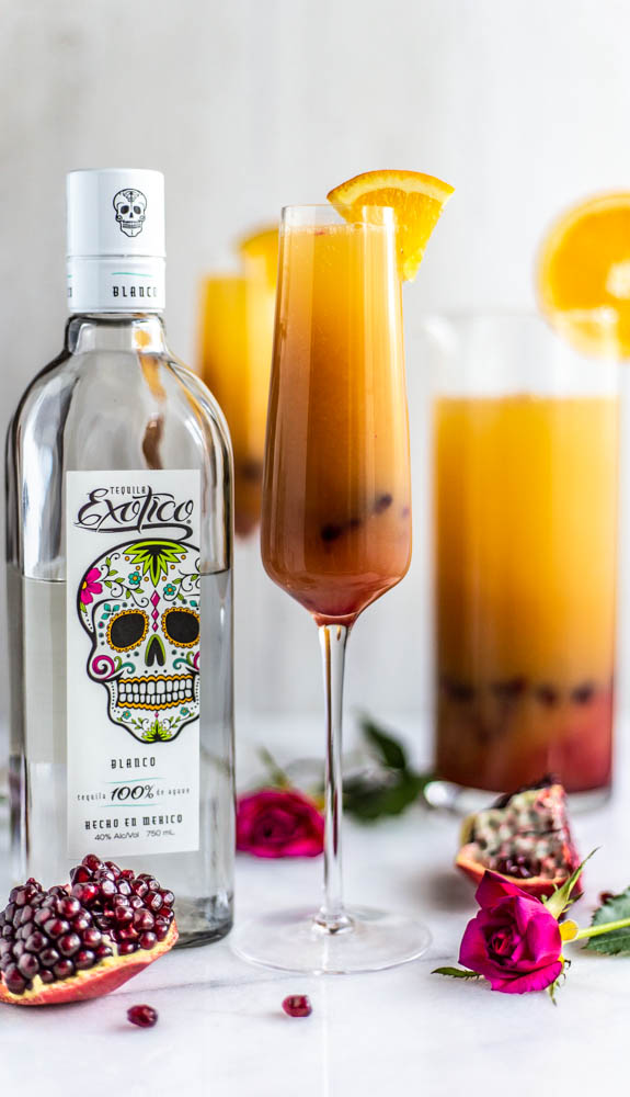Refined Sugar Free Tequila Sunrise Punch
