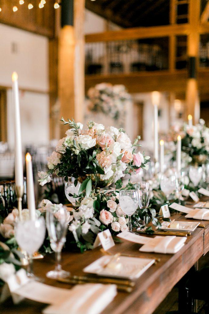whimsical farm table setting