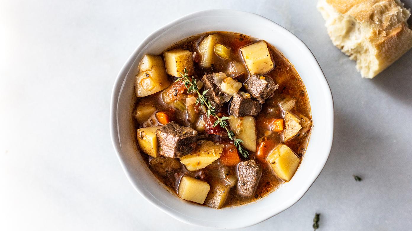 Instant Pot Venison Stew Slow Cooker Friendly Miss Allie S Kitchen