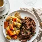 Instant Pot Red Wine Venison Roast