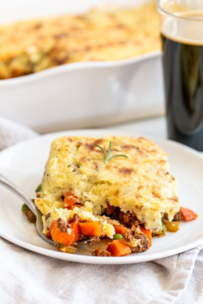 Instant Pot Venison Shepherd's Pie - You won't believe how easy it is to make mashed potatoes and the filling!