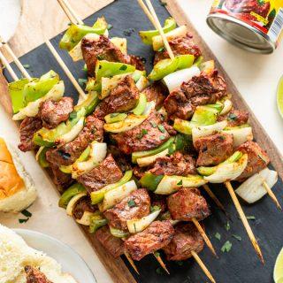 Chipotle Steak Kabobs