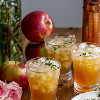 Apple Cider Bourbon Smash