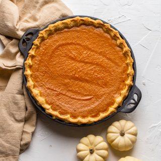 Homemade Pumpkin Pie (evaporated milk free)