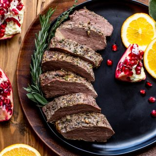 Roasted Bison Tenderloin