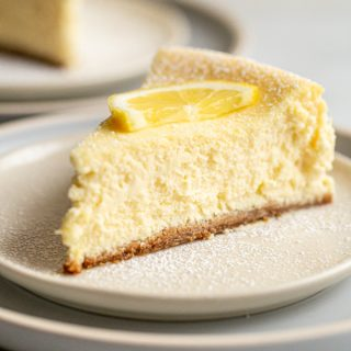 Italian Lemon Cheesecake